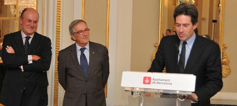 Foto: Scott Malkin junto al alcalde de Barcelona, Xavier Trias. (Foto: Catalunya Empresarial)