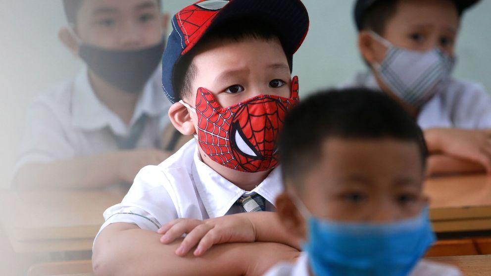 La vuelta al cole y el coronavirus por el mundo: el día en fotos
