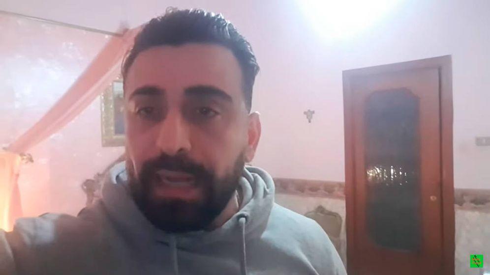 Foto: Luca Francese subió un vídeo a las redes sociales desde la habitación donde murió su hermana (Foto: YouTube)