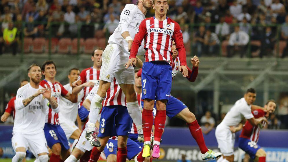 Foto: Griezmann y Bale en la final de la Champions de 2016. (Reuters)