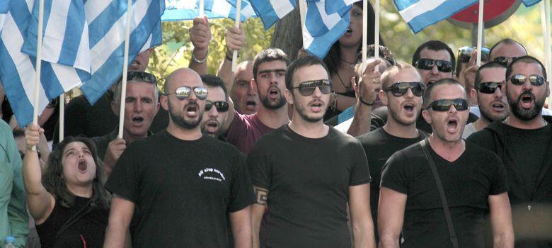 Foto: Simpatizantes de Amanecer Dorado han pedido la libertad de sus líderes en Atenas. (Efe)