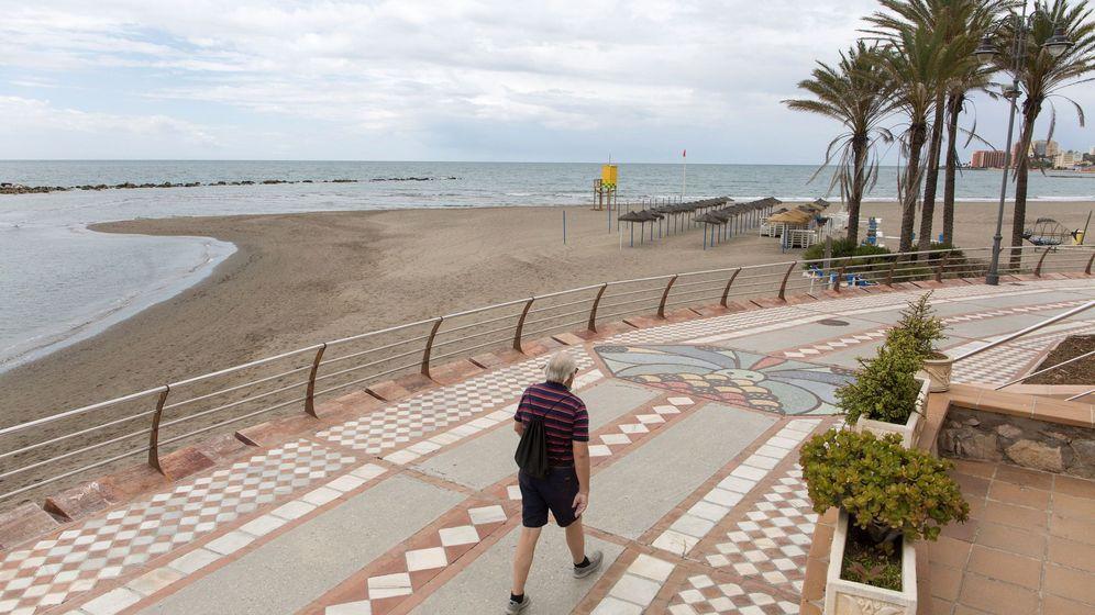 Foto: Paseo marítimo de Benalmádena (EFE)