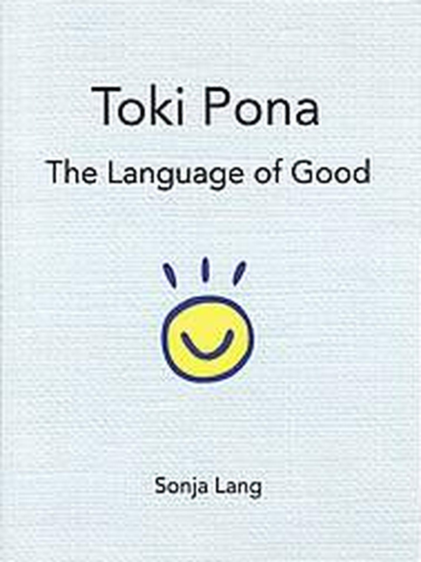 Portada del libro sobre el Toki Pona.