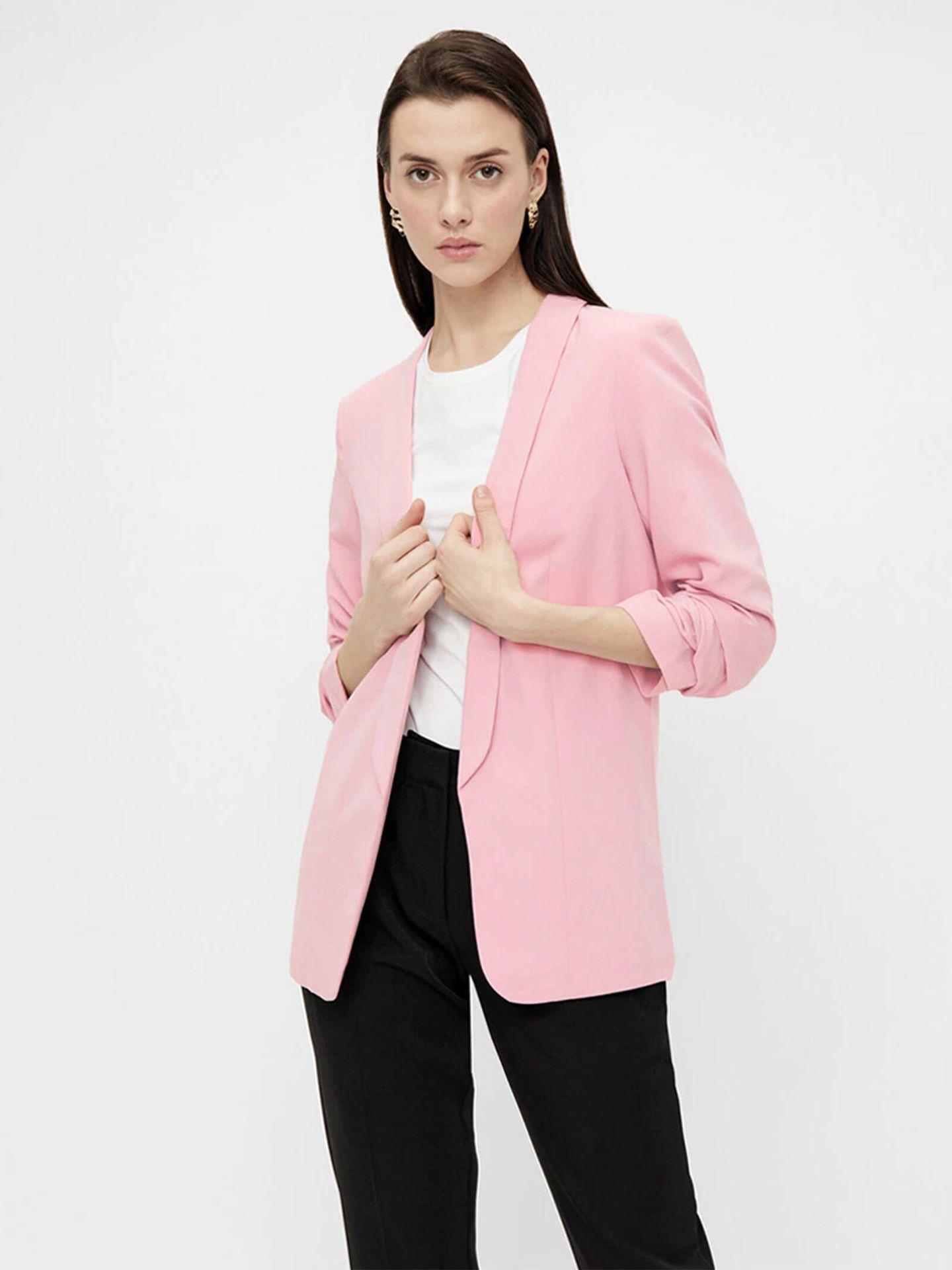 La chaqueta blazer de El Corte Inglés que dará un toque elegante a tus looks. (Cortesía)
