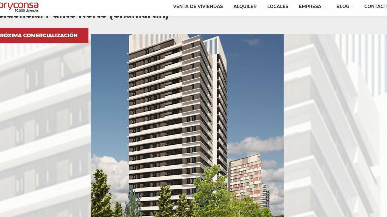 Web de Pryconsa.