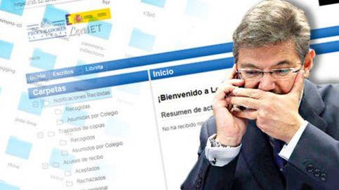 Enésimo fallo de Lexnet: la web se cae y deja tirados a 200.000 profesionales