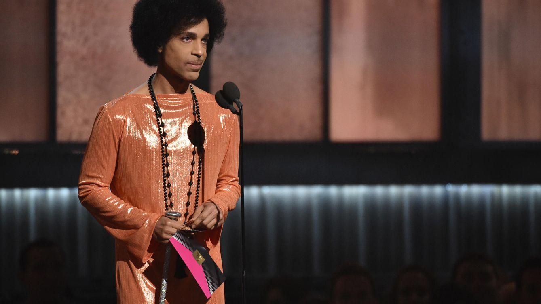 Foto: Prince en la entrega de los Grammy en el año 2015 (Gtres)