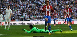 Post de El Real Madrid creyó muerto al Atlético, pero Griezmann le dio un soplo de vida