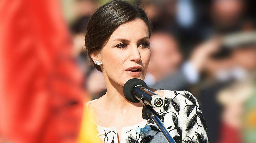 Foto: La reina Letizia, en un acto reciente. (Limited Pictures)