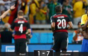 Scolari, te lo has buscado: Alemania deja en estado de shock a Brasil y al mundo