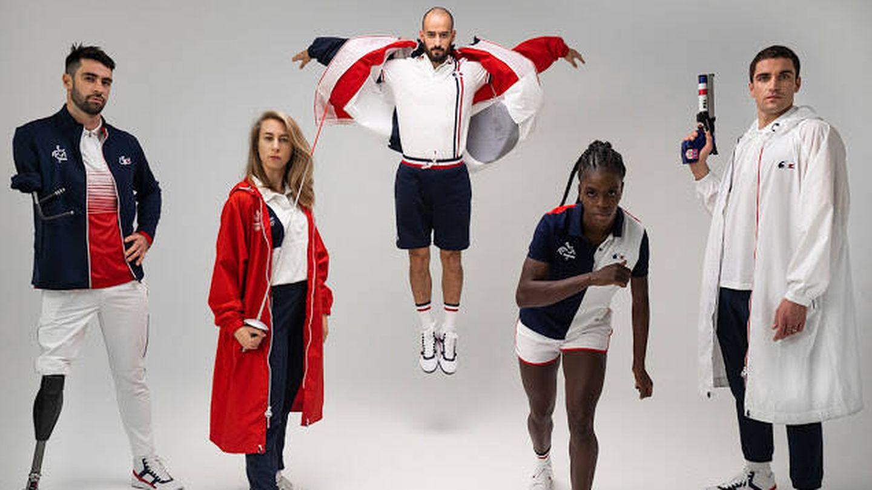 Foto oficial de presentación de los diseños de Francia para los JJOO 2016. (Cortesía)