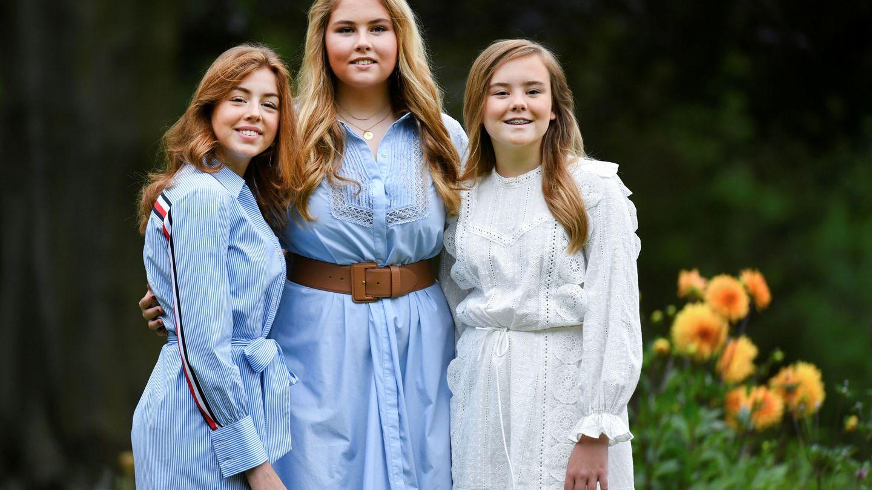 Amalia, Alexia y Ariadne. (Reuters)