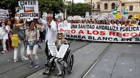 La Junta cesa al gerente del Servicio Andaluz de Salud tras las reiteradas protestas