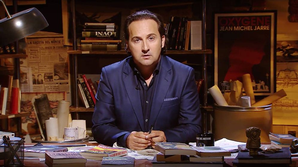 Foto: El presentador Iker Jiménez. (Mediaset)