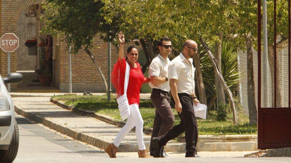 Así ha sido la salida de prisión de Isabel Pantoja