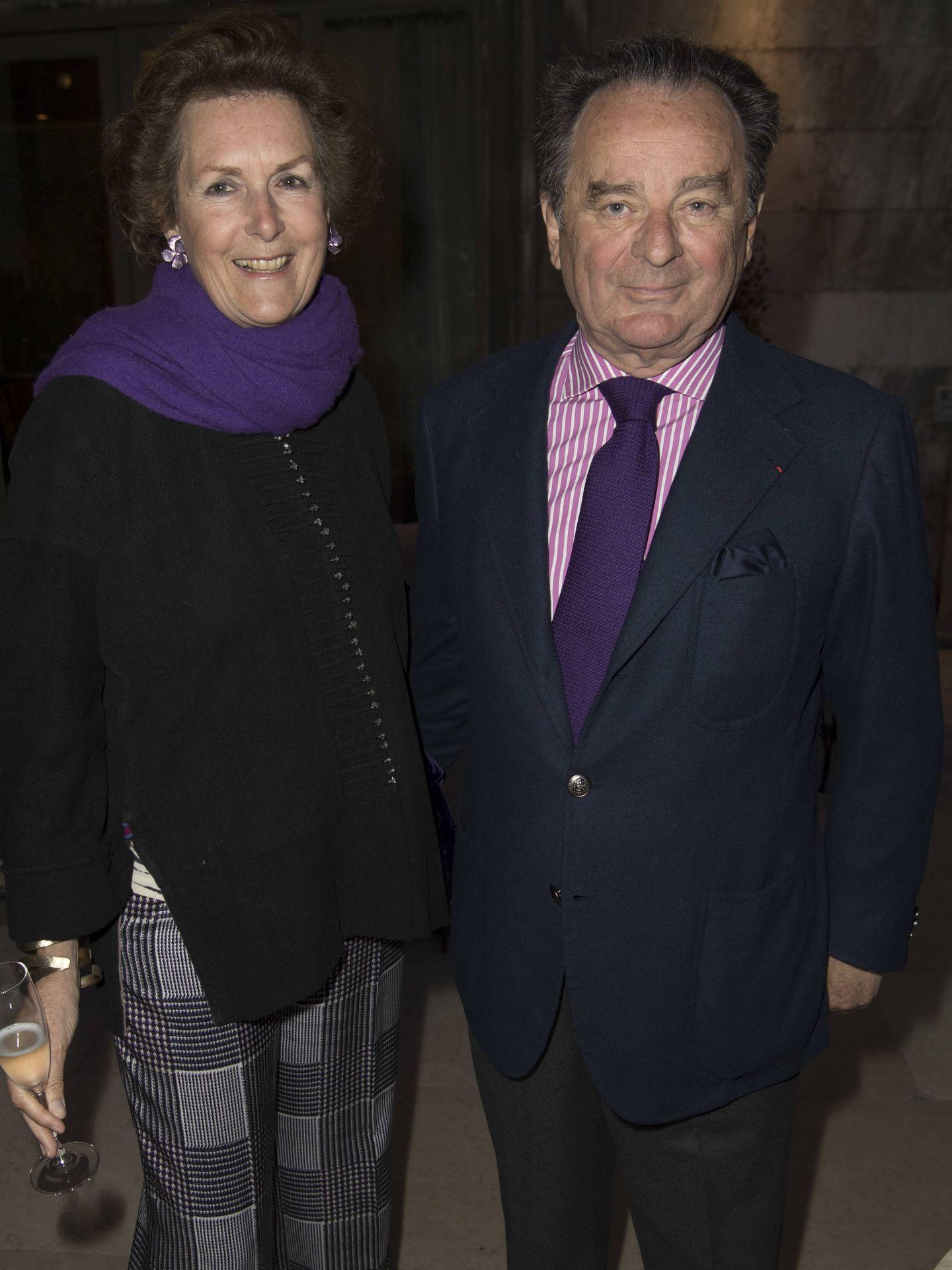 Candelita y Arnaud Brunel, quienes se convertirán en suegros de Daria. (Getty)