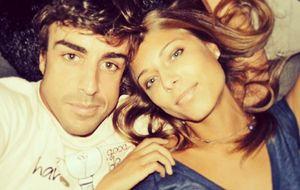 Kapustina consuela a Alonso: Estamos juntos y eso es lo más importante