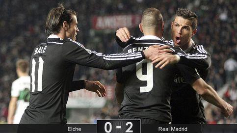 El regalo del Barça lo aprovechó el mejor Madrid con pocos goles