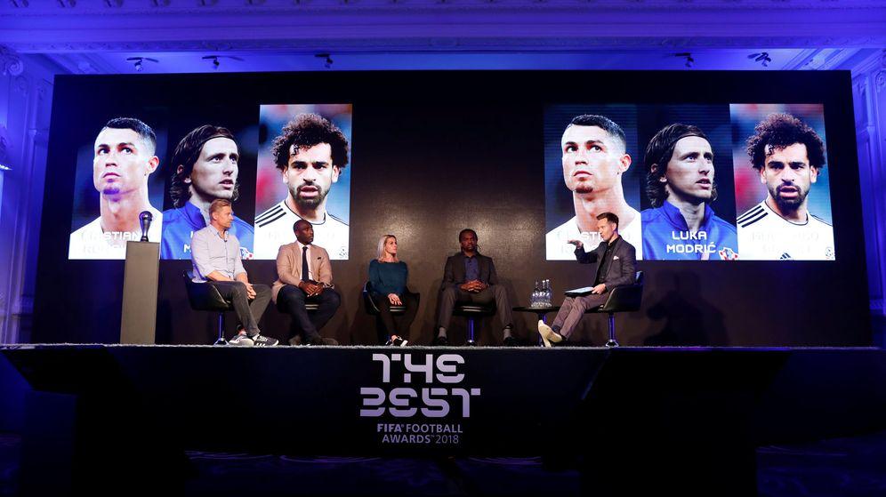 Foto: Gala de presentación de los candidatos a los premios 'The Best'