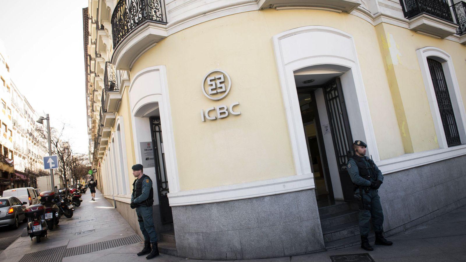 Foto: Guardia Civil registra el banco chino ICBC en Madrid por blanqueo de capitales. (Reuters)