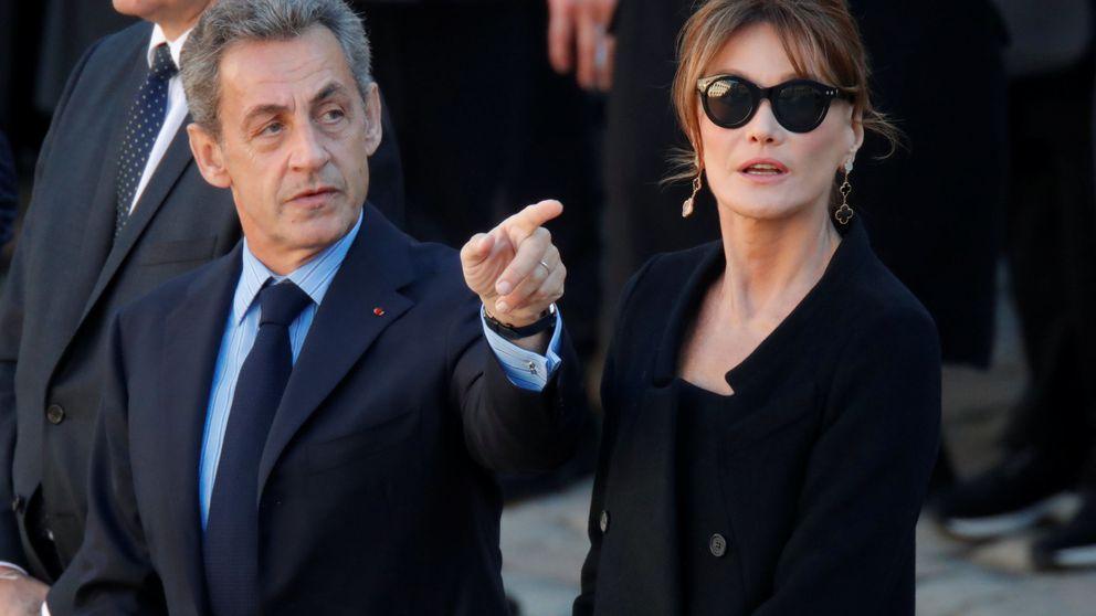 Fiestón de Naturhouse: Carla Bruni, Nicolás Sarkozy, Susana Gallardo y Manuel Valls