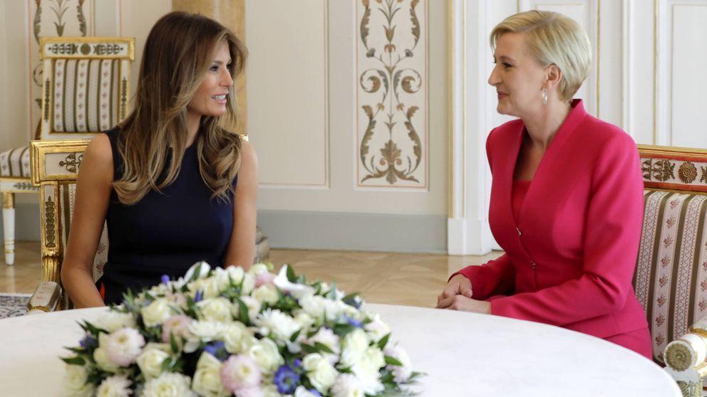 Melania Trump y Ágata Kornhauser: duelo de estilo para dos primeras damas