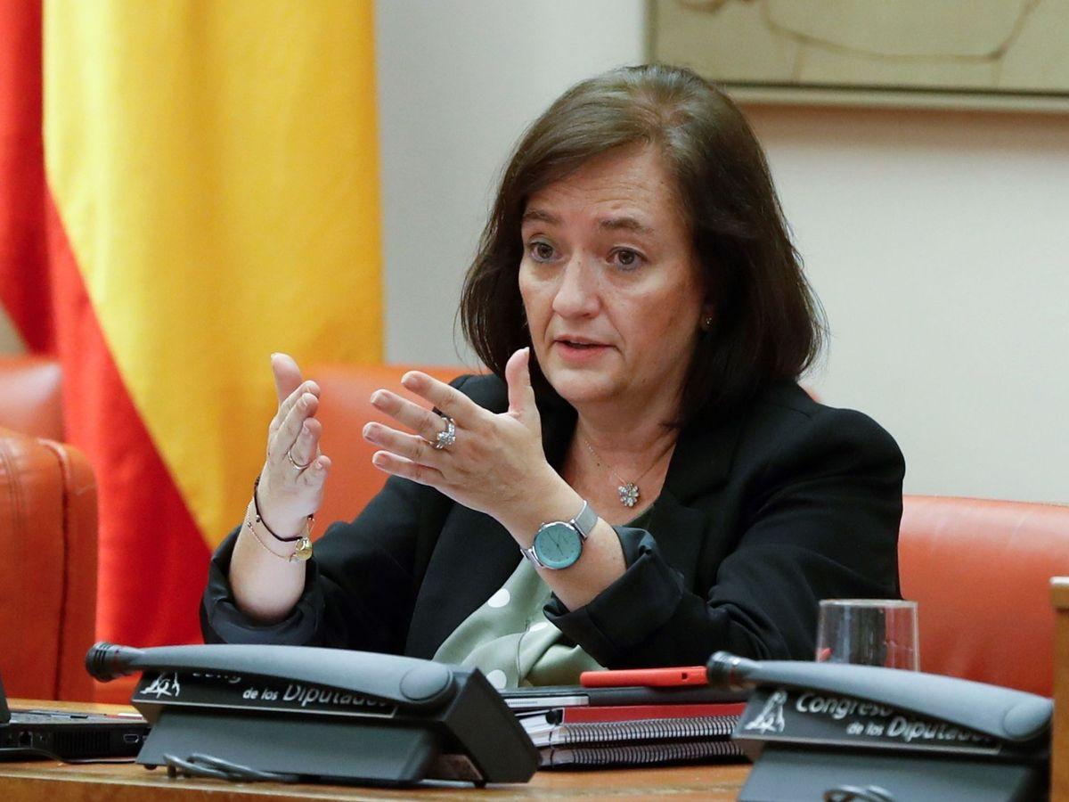 Foto: La presidenta de la Autoridad Independiente de Responsabilidad Fiscal (AIReF), Cristina Herrero