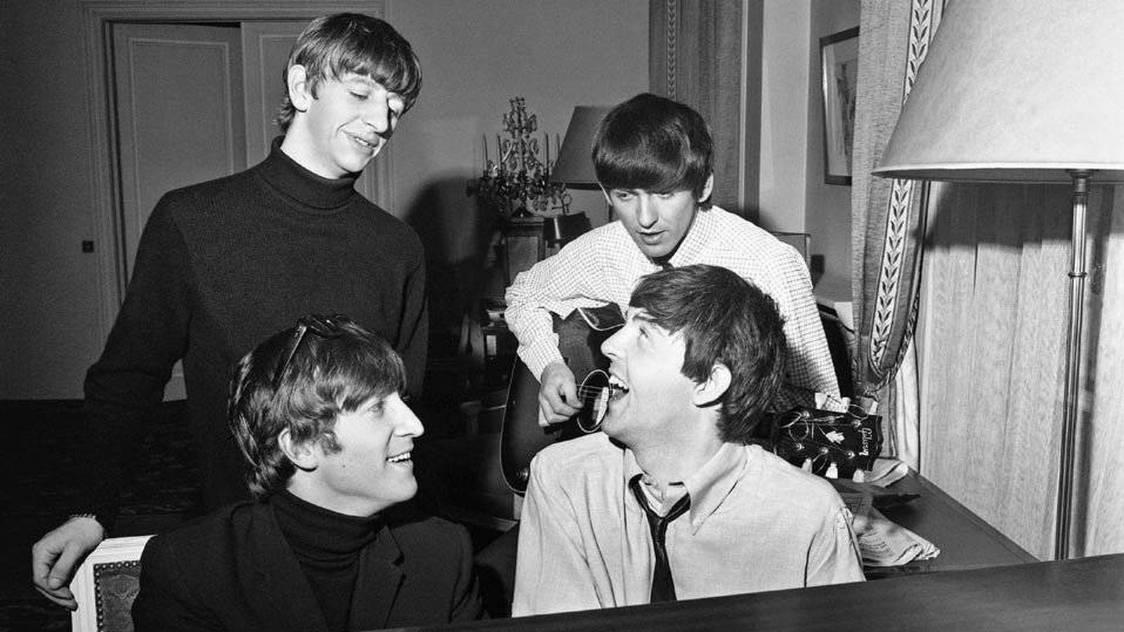 Foto: Los Beatles, en los años sesenta (Harry Benson)