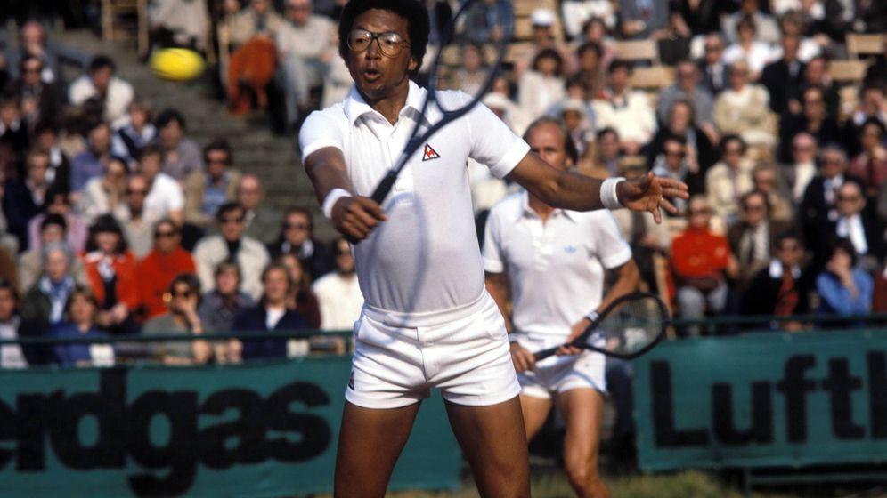 Foto: Arthur Ashe, en la Davis de 1979. (Imago)
