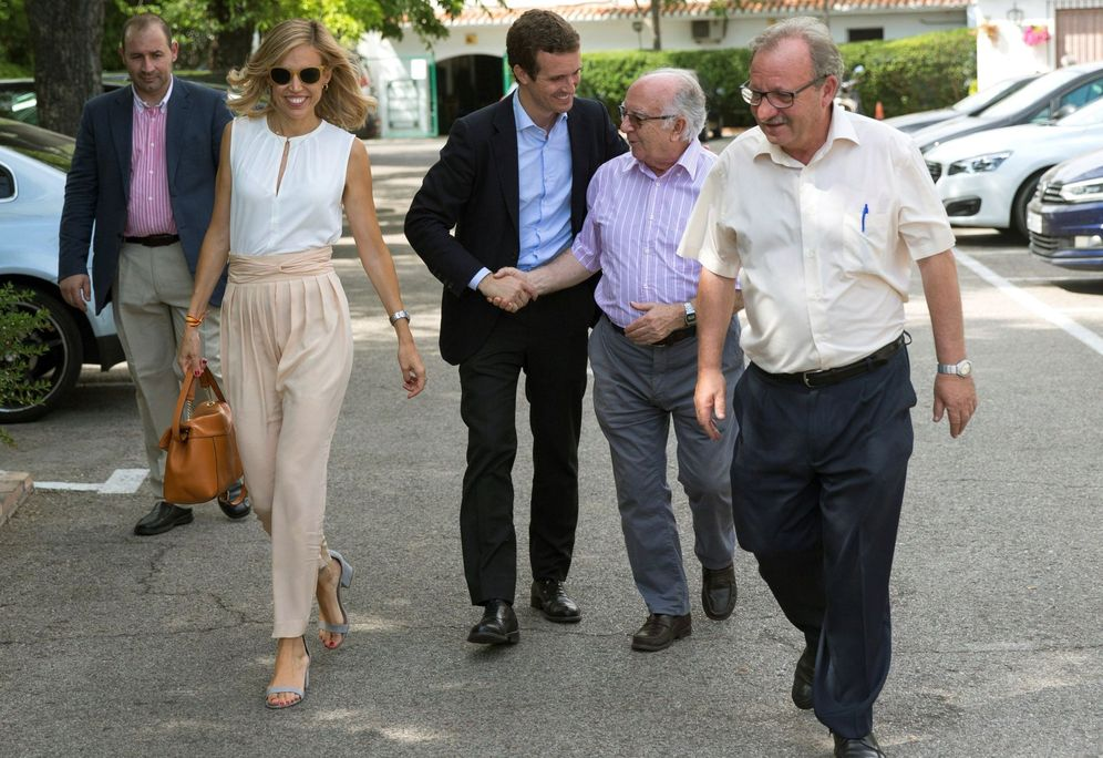 Foto: Pablo Casado tras ser elegido nuevo presidente del PP. (EFE)