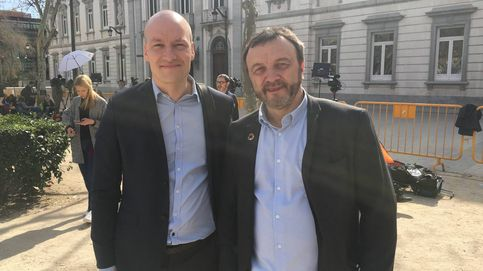 El colonizador y el colonizado, los dos diputados de Dinamarca invitados por ERC