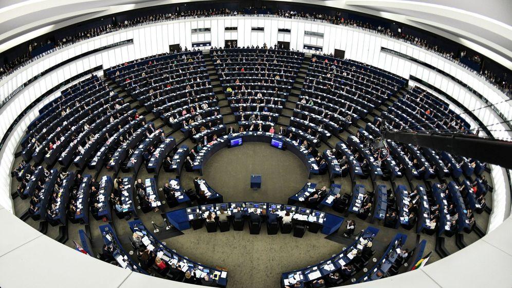 Foto: Vista de la sede de la Eurocámara en Estrasburgo. (EFE)