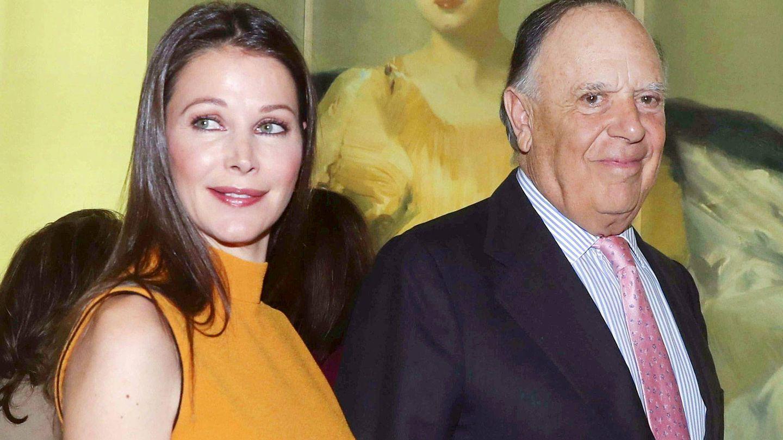 Esther Doña y Carlos Falcó, en una imagen de archivo. (EFE)