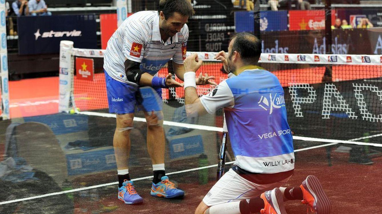 Rendidos ante Belasteguín y Lahoz: segundo torneo como pareja y segunda victoria