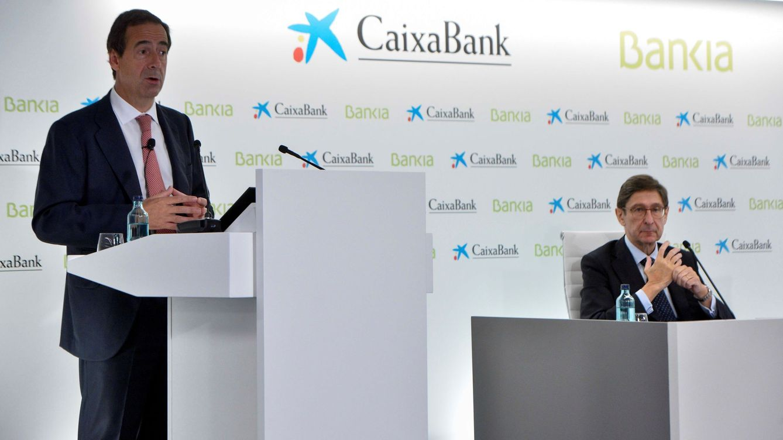 CaixaBank toma nota de Santander-Popular y ficha a Bluecap para integrar Bankia