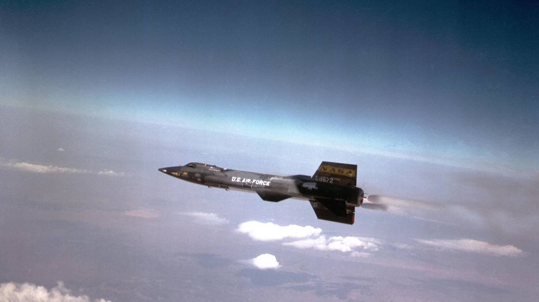 El X-15 en vuelo. (Foto: Wikimedia)