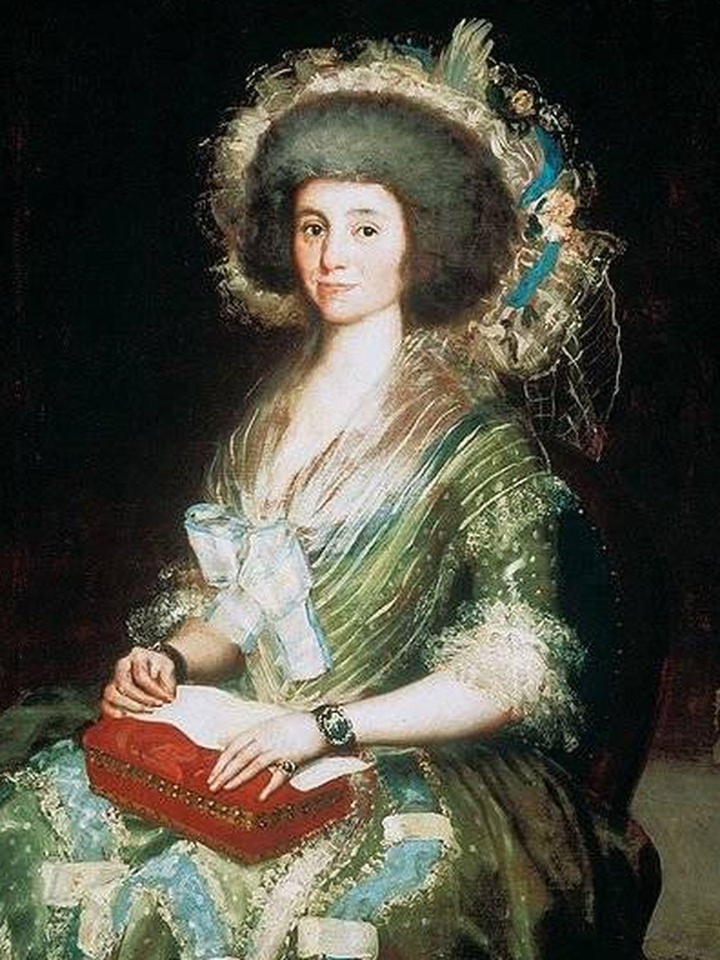 'Retrato de 'Manuela Camas' - Goya (1792-93)