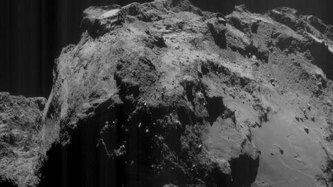 Rosetta observa por primera vez actividad en pozos del cometa 'Chury'