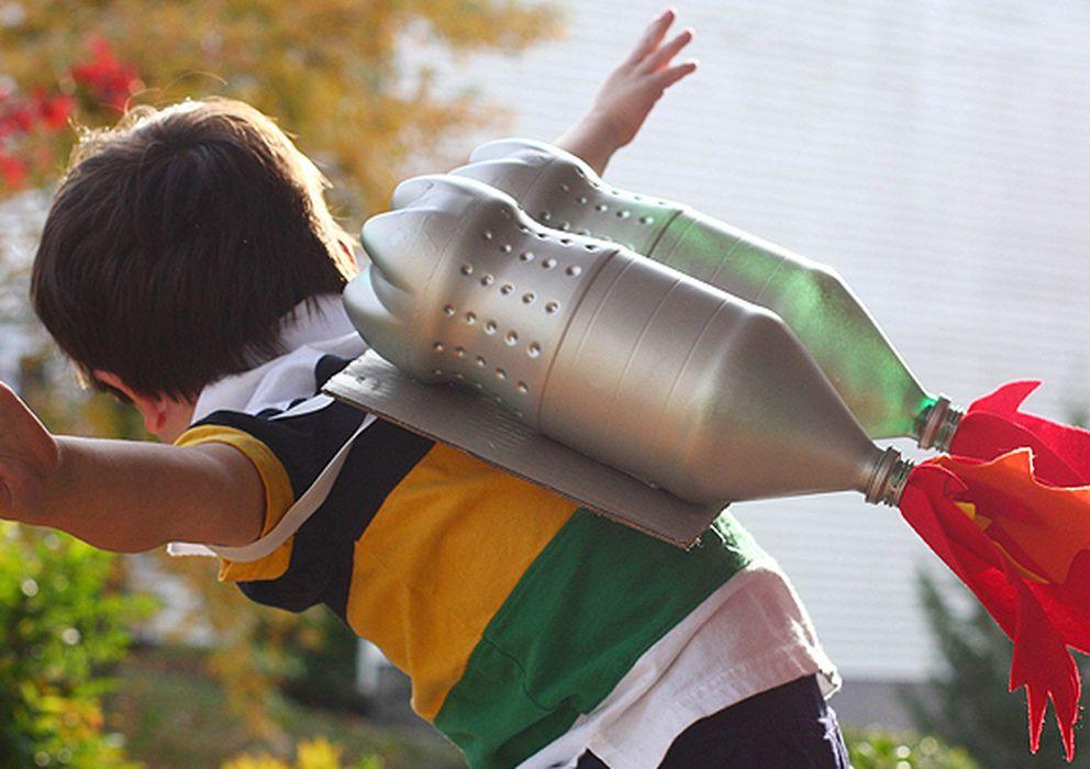 Como Construir Un Cohete Casero Con Una Botella De Plastico Agua Y Aire