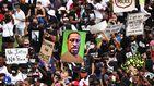 Multitudinaria marcha en Washington contra el racismo y la violencia policial