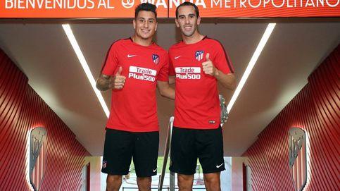 El Atlético de Madrid ya entrena en el Wanda Metropolitano. (Atlético de Madrid)