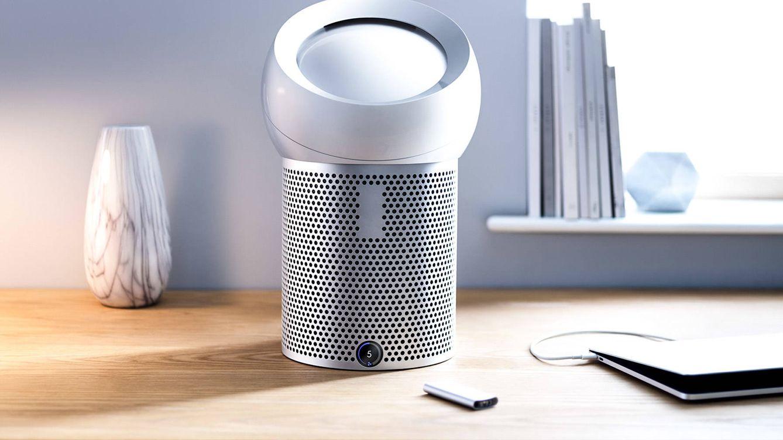 Foto: Entre sus múltiples virtudes, el ventilador purificador personal Dyson Pure Cool Me es extremadamente silencioso.