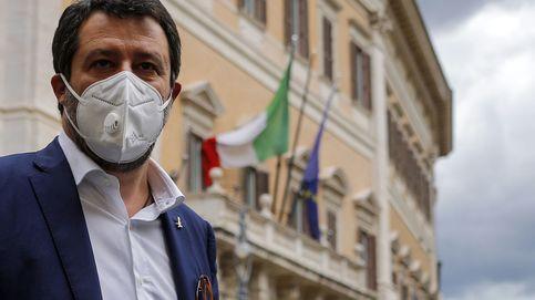 Salvini no tiene quien le escriba... y agita el fantasma de Draghi para tumbar el Gobierno