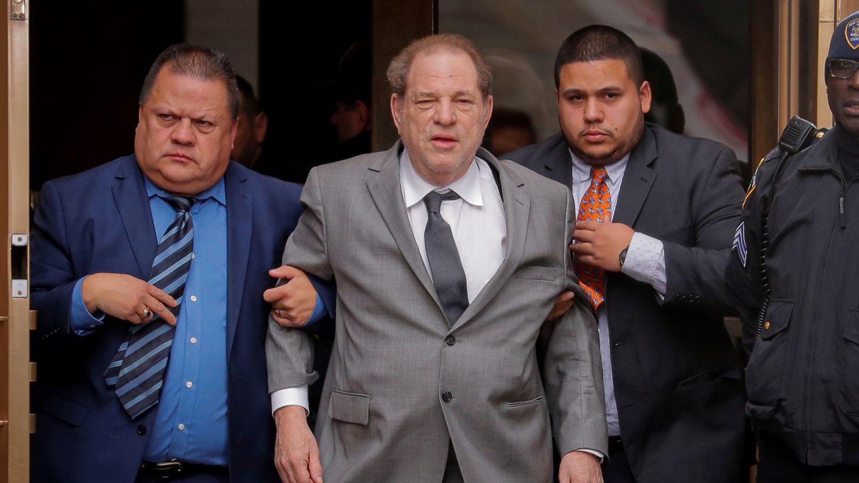 Harvey Weinstein, a su salida del Tribunal Supremo de Nueva York el pasado 6 de diciembre. (Reuters)