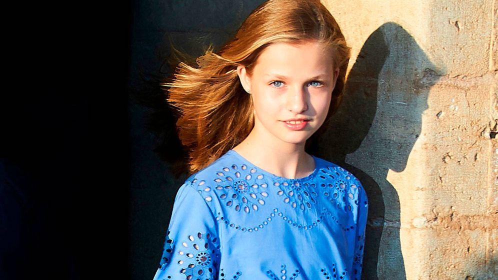 Foto: La princesa Leonor, en el posado de verano. (Limited Pictures)