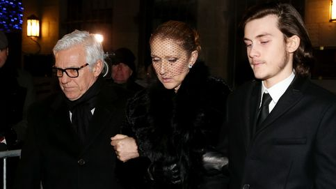 Céline Dion, rota de dolor en el funeral de su marido, René Angélil