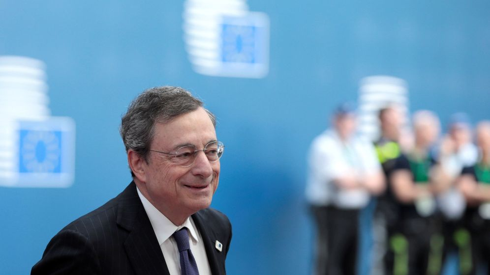 Foto: El presidente del Banco Central Europeo, Mario Draghi. (EFE)