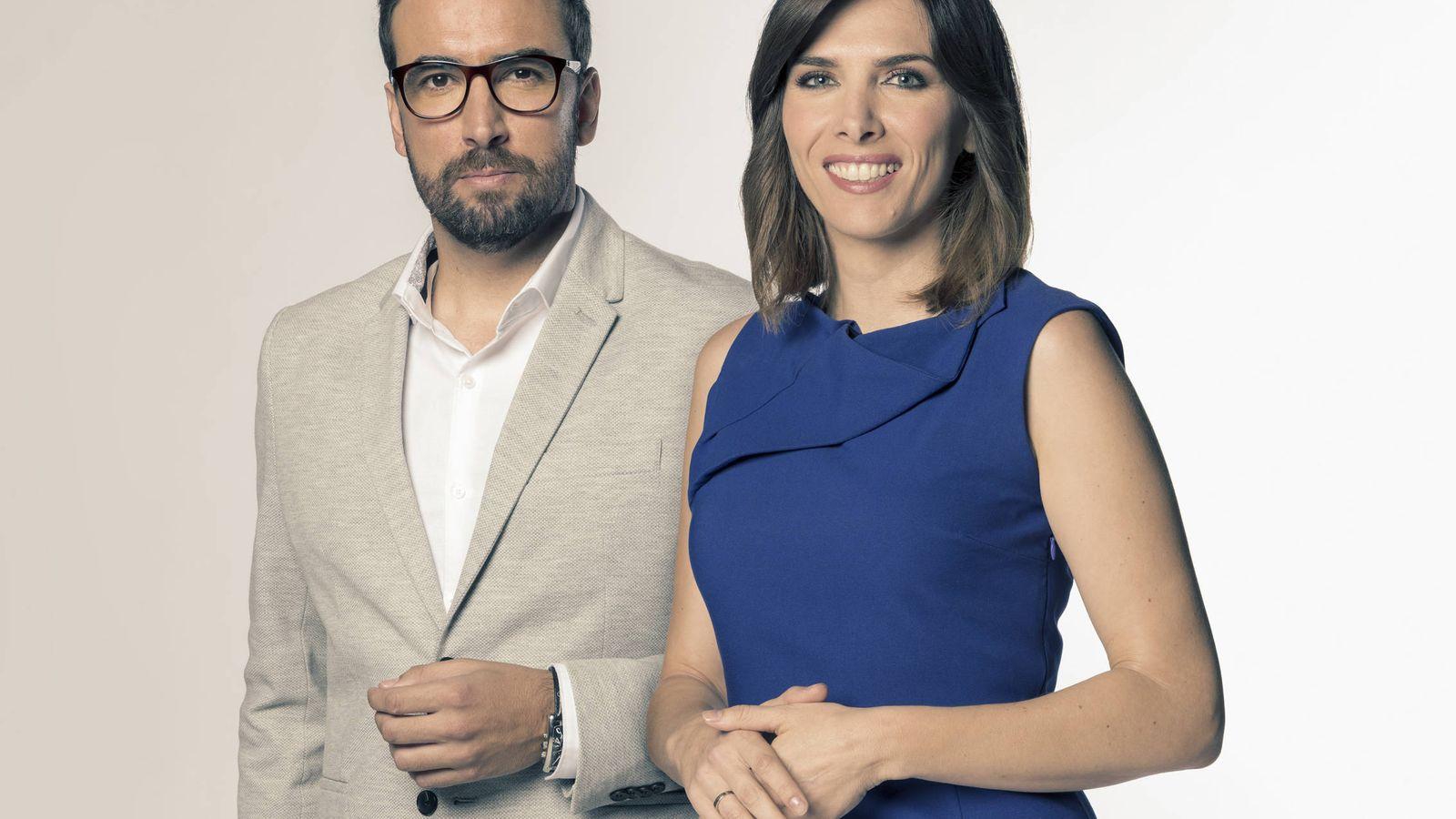 Foto: Ricardo Altable y Verónica Sanz. (Telemadrid)