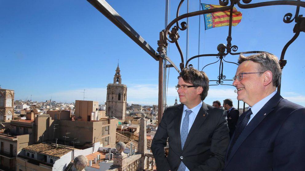 Turismo, televisiones, infraestructuras…el 'oasis' de Puig y Puigdemont