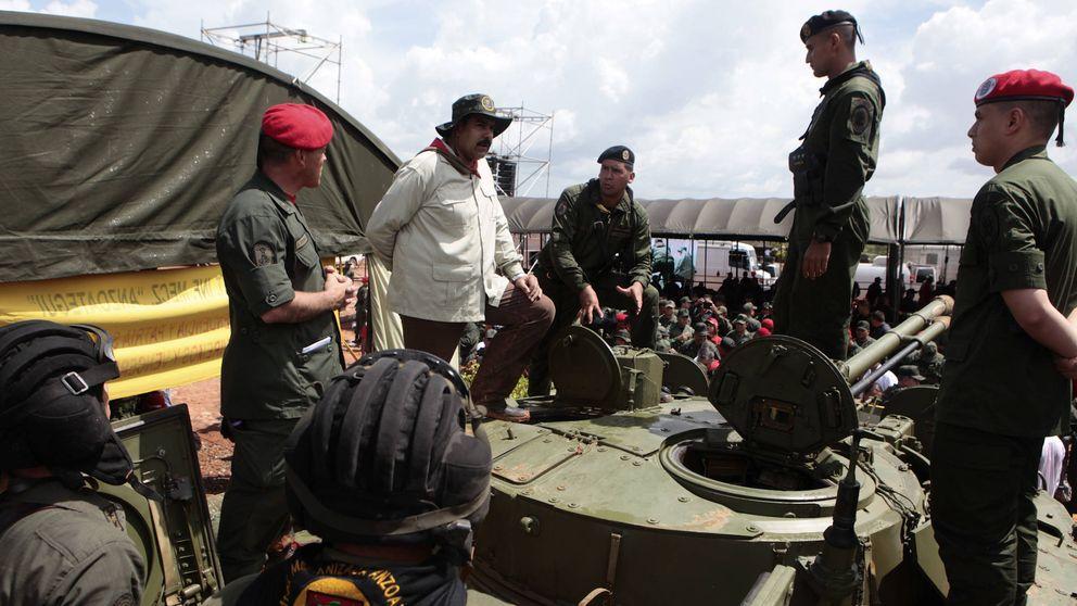 Un Maduro en horas bajas instaura el Gobierno más militarista del chavismo
